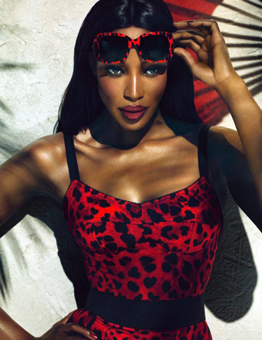 6e19d39051f I LOVE this new ad for Dolce   Gabbana s new installment of its Animalier  eyewear campaign. Naomi Campbell is the perfect muse. 0.000000 0.000000